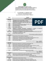 77 Calendario Unificado Ufrpe 2013 Resolucao 160 2013 Mod CPE
