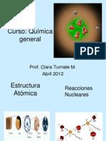 Presentación clase Estructura atomica.