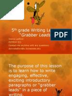 ledford d  - 5th grade writing asynchronous lesson