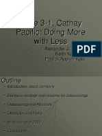 Case 3-1- Cathay Pacific- Doing More With Less