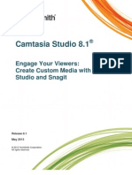 Camtasia Studio 8.1 Create Library Media