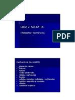 m2 Clase 7 Sulfatos Haluros Boratos
