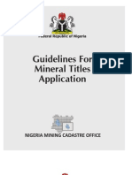 Mineral Titles Guidelines