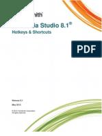 Camtasia Studio 8.1 Hotkeys