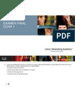 Ccna1 Final Exam