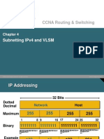 Chapter 4 - Subnetting and VLSM