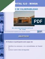 EXPOSICION  VULNERABILIDAD HOSPITALARIA