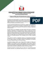 Nota de Prensa de DP