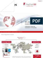 2013 RepTrak 100-Global Report