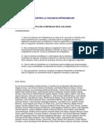 Ley Contra La Violencia Intrafamiliar El Salvador[1]