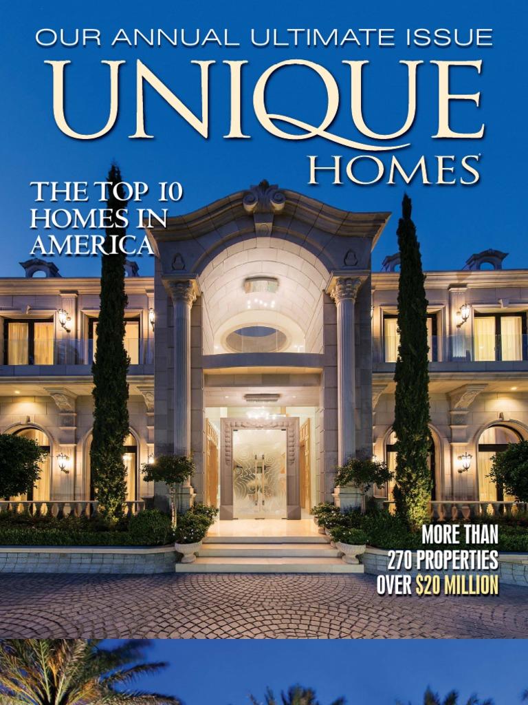 6417 webster -  Unique Homes Magazine The Ultimate Issue 2013 Video Black Hills Interior Design