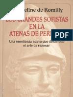Romilly J Los Grandes Sofistas en La Atenas de Pericles