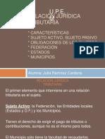 5o. Expo Derecho Relación Jurídica Tributaria.pptx