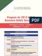 8-26-7503 Ammonia2012 Program Web
