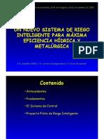 Sistema de Riego Tecnificado Dr. Menacho