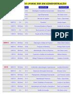 Horarios de Exames 1 Semestre 2013