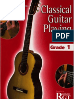 Rgt - Classical Guitar Playing Grade 1