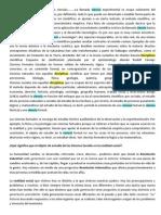 Descripción y clasificación de las ciencias