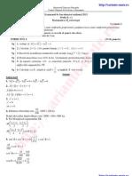 Rezolvare Subiecte Bac Matematica M Tehnologic Sesiunea Speciala Olimpici 2013