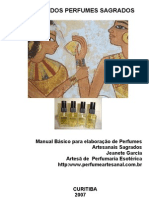 Apostila Complementar Do Curso de Perfume