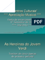 As Heroinas de Verdi