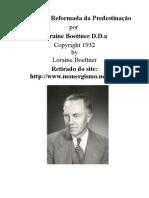 A Doutrina Reformada da Predestinação - Loraine Boettner