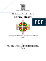 THE ISLAMIC SLAVE REVOLTS OF BRAZIL - M. Shareef