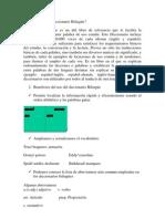Diccionario Bilingüe es un útil libro de referencia que le facilita la traducción de cualquier palabra de uso común