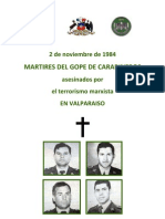 Martires del GOPE de Carabineros de Chile, 2 de Noviembre de 1984