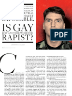 Is Gay Just Another Word for Rapist?