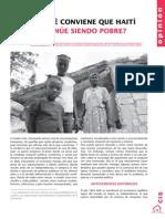 Por qué conviene que Haití continúe siendo pobre (Techo)