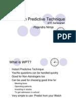 000-Watch Predictive Technique