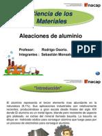 Presentación De aleaciones de Aluminio corregido