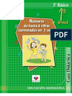 Unidad 1 Matematica 3ro Basico