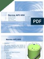Exposicion Norma API 650