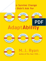 AdaptAbility, by M.J. Ryan - Excerpt
