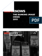 BBDO KNOWS the Banking Image Crisis
