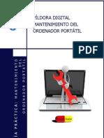 Manual Curso Mantenimiento Ordenador Portatil