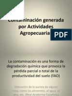 Contaminación Agropecuaria