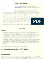 An Introduction to the Unix Shell