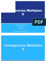Inteligencias Múltiples II