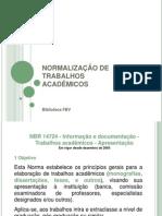 FBV-Normalização  final
