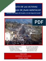 AL FIESTA DE LAS OCTAVAS DE JUAN MONTALVO-CAYAMBE. Octavas Jm