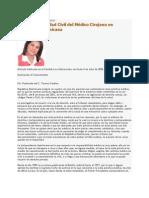 La Resp Civil Del Medico Cirujano en Rd