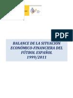 Balance Economico Futbol Primeraysegunda 2012 2013