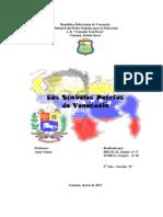 Los Simbolos Patrios de Venezuela