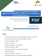 [PD] Presentaciones - Gestion de Riesgos ERM - COSO II