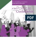 1 de Las Politicas a Los Ciudadanos