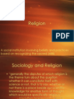Religion and Sociology