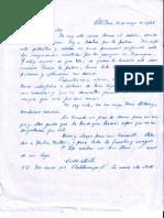 Carta Don Benjamin Valiente